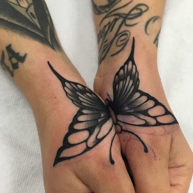 tatouage papillon la rochelle tatouage